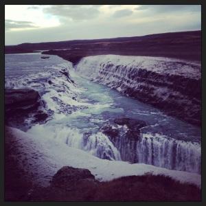 """Gullfoss """"Golden Waterfall"""""""