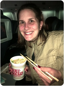 Ahh... Cup O' Noodles... Welcome to China.
