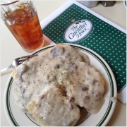 Biscuits & Gravy at Guenther House