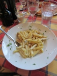 Absolutely authentic (delicious) Gorgonzola Penne.