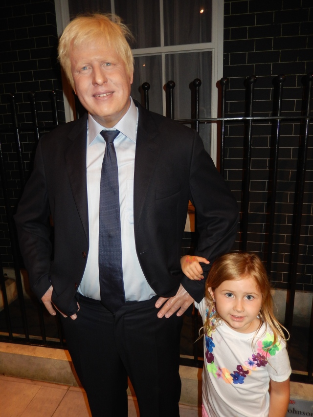 Kiki and London Mayor Boris Johnson